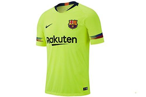 Nike 2018-2019 FC Barcelona Away Stadium Jersey (Volt) (L)