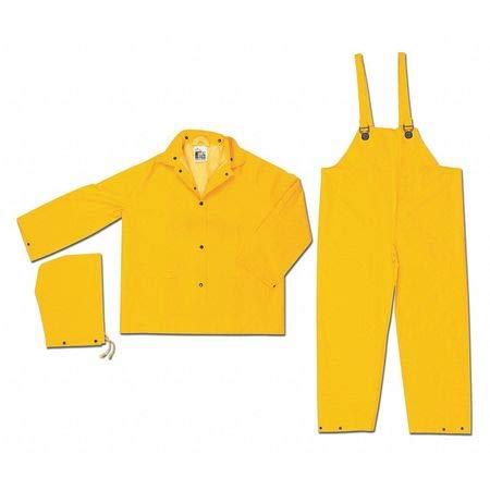 Classic .35Mm PVC Poly Suit 3 Pc No, 2XL