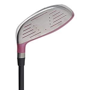 """(Tall 5'8""""+) Women's All Pink PGC High MOI 3 Wood Golf Club, Right Handed Premium Ultra Forgiving Ladies Flex Graphite Shaft with Tour Pink Velvet Grip"""