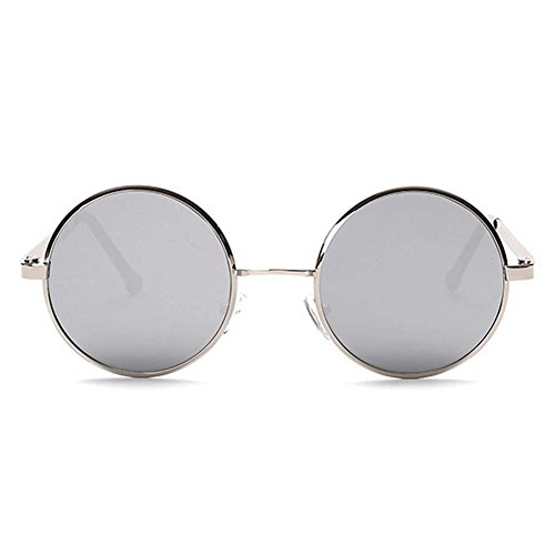 My.Monkey 2016 New Fashion Retro Metal Frame Reflective Lens Round - You Can Sunglasses Where Buy Oakley