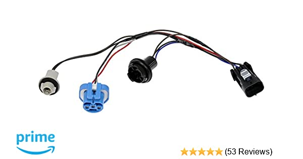 Amazon Dorman 645205 Pigtail Connectorheadlight Automotiverhamazon: 2000 Impala Headlight Plug Wiring Diagram At Gmaili.net
