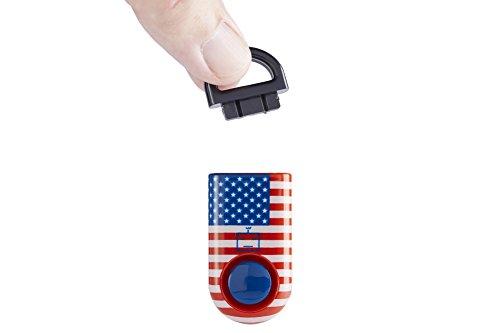 B A S U Emergency eAlarm SmartPin Technology, American Flag Limited Edition 2018