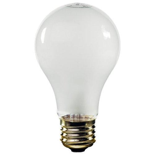 130v A21 Light Bulb - Halco 8010 - 50/100/150 Watt Light Bulb - 3-Way - A21 - Frost - 2,500 Life Hours - 130 Volt