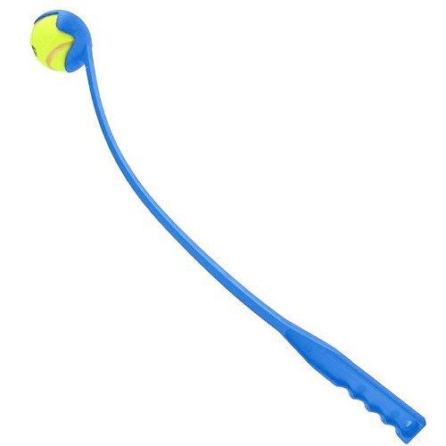 P-H Jouet pour Chien à Lancer Boule Launcher-Blue