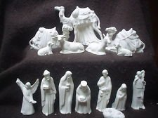 Nativity Bisque Riverview Ceramic Ready to Paint