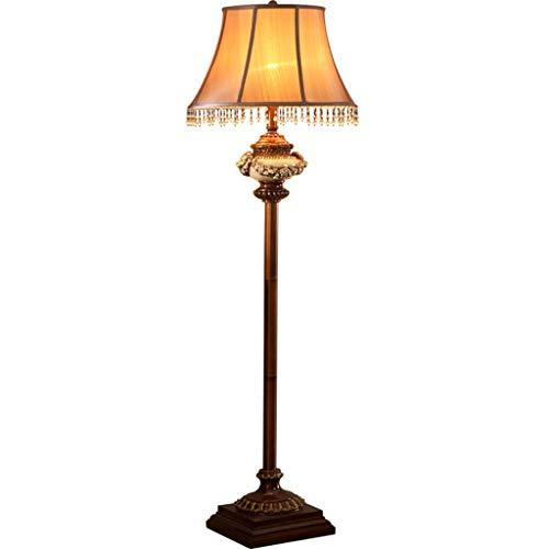 Yxx max *Lámpara de pie Lámpara de pie Sofá Vintage Tallado ...