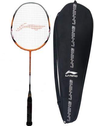 Li Ning G TEK 80 Muscle II Multicolor Strung Badminton Racquet Pack of: 1, 86 g