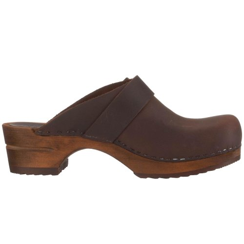 Women's Open Sanita Brown Clog Oil antiq Urban qt5Rwaxf