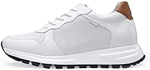 31dSgcyyoaS. AC GOLDMoral Men Shoes Elevator for Man Men's Fashion Sneakers Mens White Leather Running    Product Description