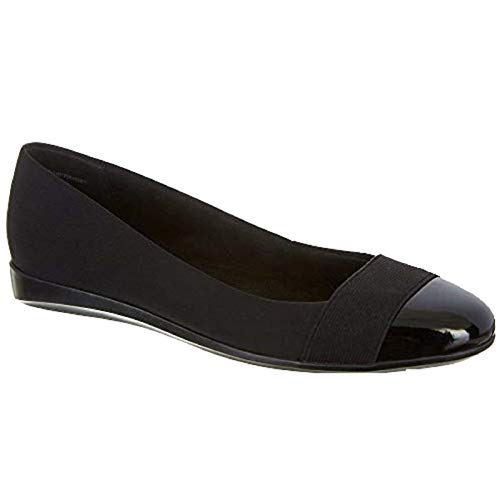 Bandolino Womens Omena Dress Flats 8 Black
