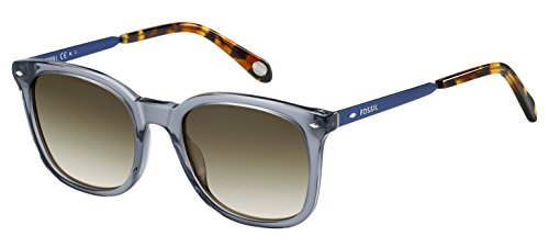 Fossil Fos2054s Square Sunglasses, Blue Navy, 52 - Womens Fossil Sunglasses