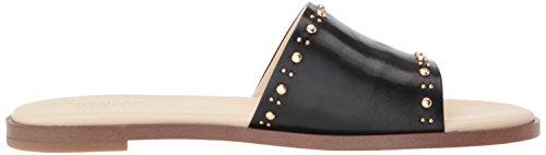 Cole Haan Femmes Anica Stud Sandale En Cuir Noir