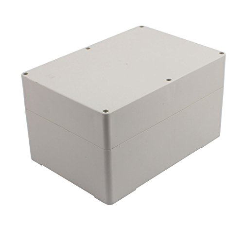 uxcell 265mm x 185mm x 150mm Dustproof IP65 Plastic DIY Joint Electrical Junction Box Case