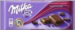 Milka Milk Chocolate BitterSweet, Zartherb, 100g