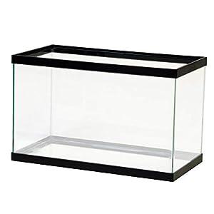 Aqueon 10 Gal Black Aquarium 16