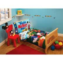 Amazon.com : Disney Mickey Mouse Clubhouse Toddler Bedding ...
