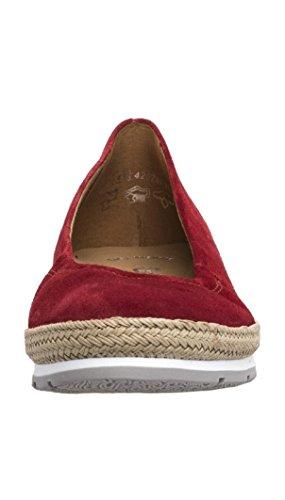 Gabor Comfort - Bailarinas Mujer red (Jute/S.gr/w)