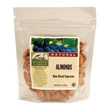 Woodstock Farms All Natural Non Pareil Supreme Raw Almond, 7.5 Ounce - 8 per (Non Pareil Almonds)