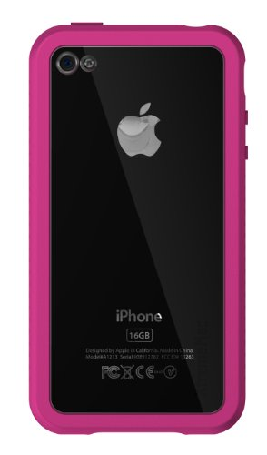 XtremeMac Coque Microshield Accent rose pour Iphone 4