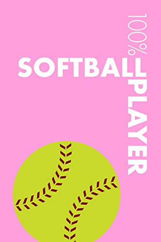 Womens Softball Player Notebook: Blank Lined Womens Softball Journal For Female Softball Player and Coach por Elegant Notebooks
