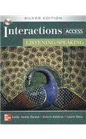 Interactions Access Listening/Speaking Student Book plus Key Code for E-Course