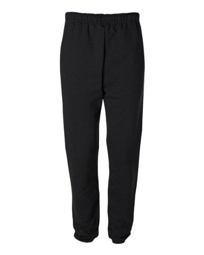 - Jerzees SUPER SWEATS - Sweatpant with Pockets, Medium, Black