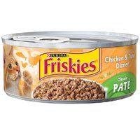 Friskies Classic Pate Chicken And Tuna Dinner In Sauce Canne