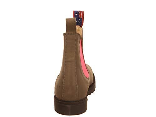Jackaroo Boot heeler blue Pink Chelsea Grey B0n4xOqpW