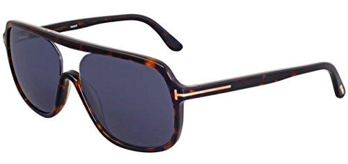 Tom Ford Robert Sunglasses FT0442 52V, Havana Frame, Grey Lens, - Sunglasses Robert