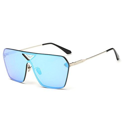 IPOLAR GSG800035C1 Explosion Models PC Lens Wind Models Sunglasses,Metal Frames Non-Polarizer