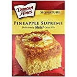 Duncan Hines Pineapple Supreme Cake 16.5 oz ( 2 Pack)