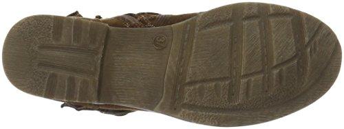 Jane Klain Stiefelette, Zapatillas de Estar por Casa para Mujer Marrón - Braun (450 Cognac)