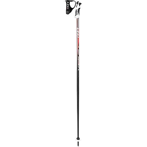 Leki Vertex S 125cm Ski Pole One Size Black Red Grey