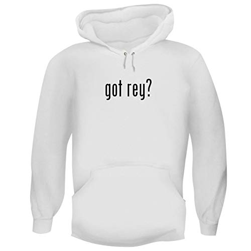 One Legging it Around got Rey? - Men's Funny Soft Adult Hoodie Pullover, White, ()