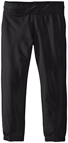 Easton Girls' Zone Pant, Black, X-Large