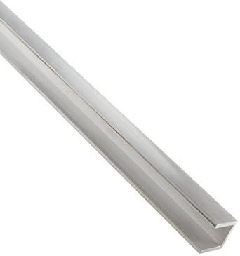 Amazon com: 6063 Aluminum U-Channel, Unpolished (Mill