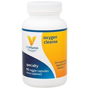 The Vitamin Shoppe Oxygen Cleanse, The Oxygenating Digestive System Cleanser with Magnesium and Potassium (90 Veggie Capsules)