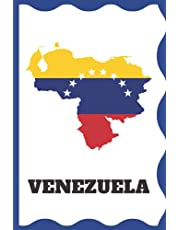 Venezuela: Cuaderno para llenar. 100 páginas a rayas. Regalo perfecto para venezolanos y todos los amigos de la República Bolivariana de Venezuela
