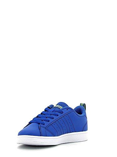 Adidas VS Advantage K–Chaussures deportivaspara enfants, bleu–(Bleu/maruni/amasol), 29