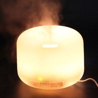 Colorido easyshop 500 ml ultrasónico difusor de Aroma humidificador purificador de aire atomizador de vapor: Amazon.es: Hogar