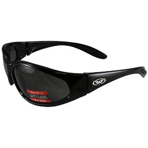 Global Vision Hercules Nylon Sunglasses (Black Frame/Smoke Lens)