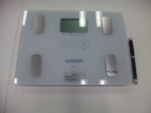 オムロン 体重・体組成計 カラダスキャン HBF-212 ホワイト