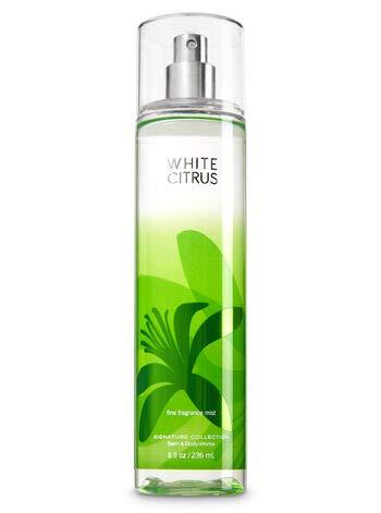 Bath and Body Works Fine Fragrance Mist, White Citrus, 8.0 Fl Oz from Bath & Body Works