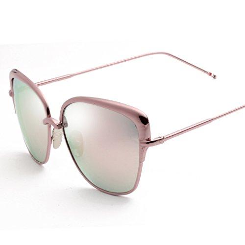 Gafas Sunglasses Personality 7 4 sol Fashion de protecciónn Driving de amp; amp;Gafas de Lady Mirror sol Gafas Color Driver vZWfH