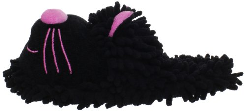 Slipper Women's Cat Fuzzy Black Friends t8BqUBSw