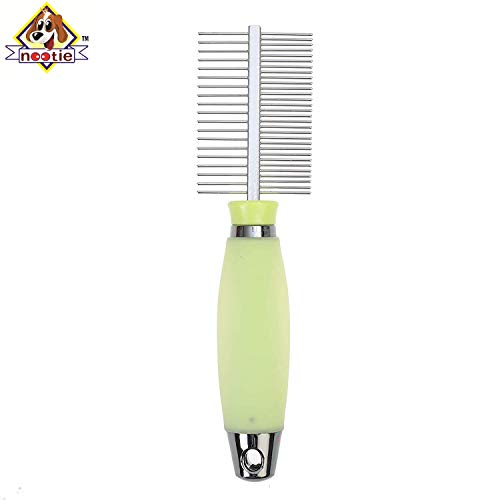 Nootie Double Side Comb Stainless Steel for Dogs (B07RJQMQ7K) Amazon Price History, Amazon Price Tracker