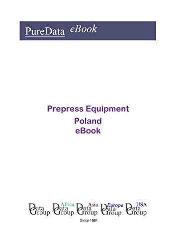 Prepress Equipment in Poland: Market Sales