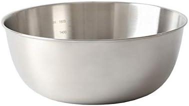 ステンレスボール ボウル ステンレス ステンレス鋼は、ベーキングボウルを調理ボウル太い304ステンレス鋼スープボウルサラダをミキシングきれいにするにはボウル簡単にミキシングボウルアンチスキッドベースのミキシング