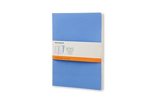 Moleskine Volant Journal Rule XL, Powder/Royal Blue (8051272890563)