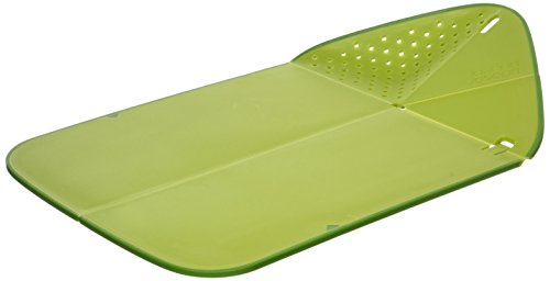 Joseph Joseph 60081 Rinse & Chop Plus Cutting Board, Green
